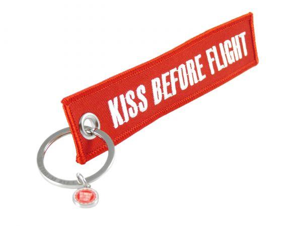 Schlüsselanhänger - Kiss Before Flight