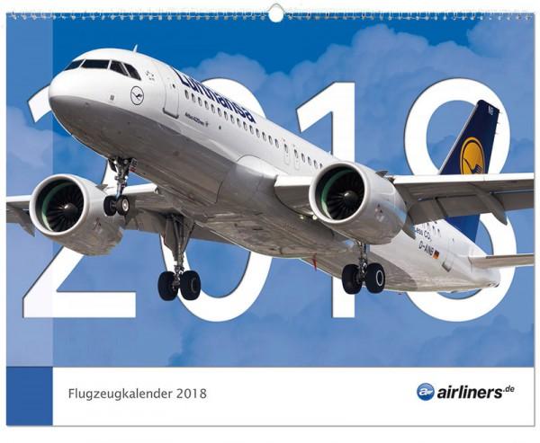 Flugzeugkalender 2018 - airliners.de