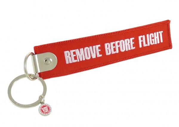 Schlüsselanhänger - Remove Before Flight - geschlossene Öse