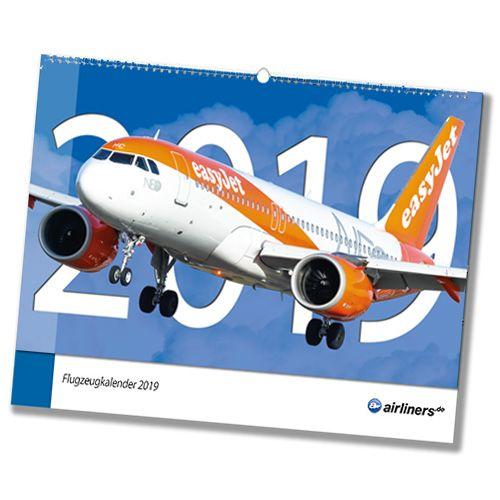 Flugzeugkalender 2019 - airliners.de