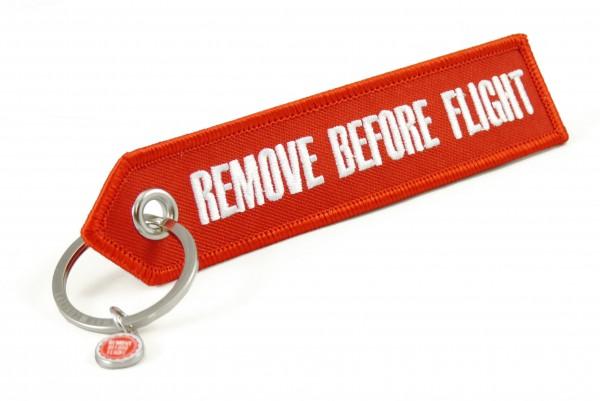 Schlüsselanhänger - Remove Before Flight - spitzes Ende