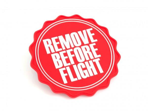 Magnet - Remove Before Flight Logo