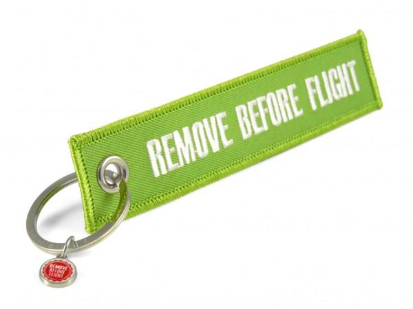 Schlüsselanhänger - Remove Before Flight - verschiedene Farben