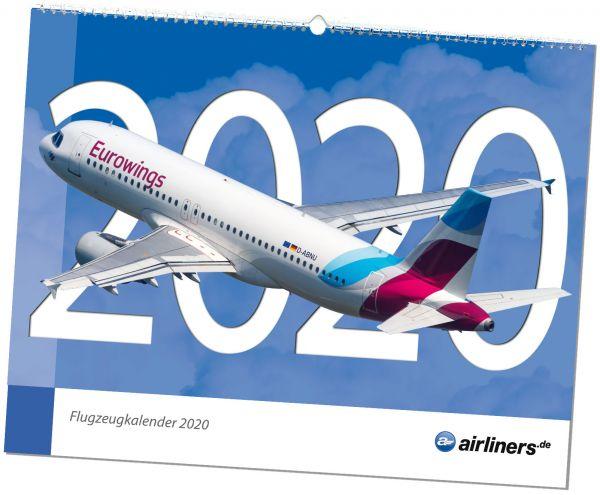 Flugzeugkalender 2020 - airliners.de