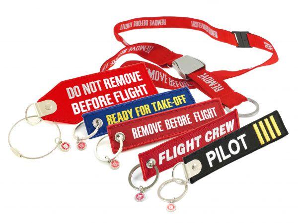 6 Teile - verschiedene Berufe-Sets - Remove Before Flight für alle, die fliegen
