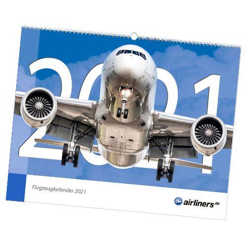 Flugzeugkalender 2021 - airliners.de