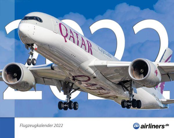 Flugzeugkalender 2022 - airliners.de